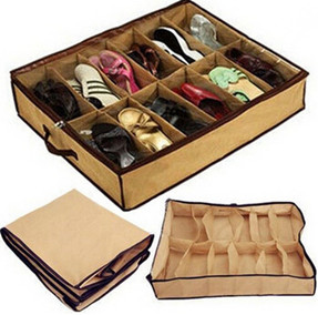 Fabric Shoe Storage Organizer